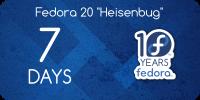 Faltam 7 dias para o Fedora 20